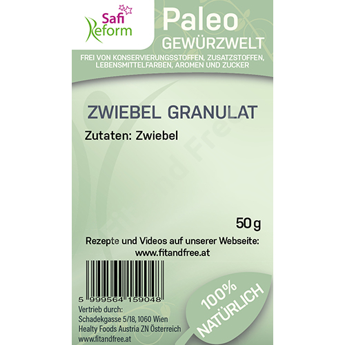 Safi Reform Paleo Zwiebel Granulat 50 g