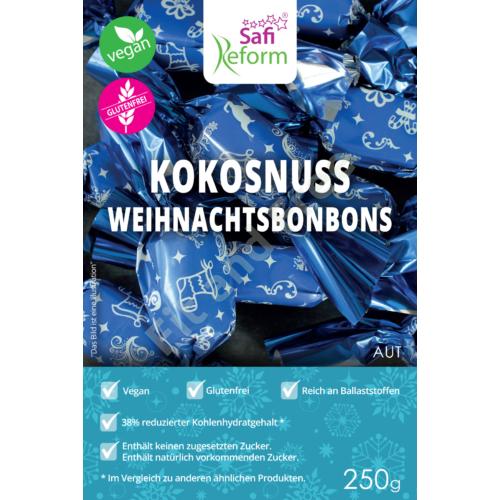 Safi Reform Kokosnuss Weihnachtsbonbons 250g