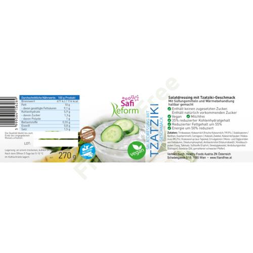 Safi Reform Salatdressing mit Tzatziki-geschmack 270 g