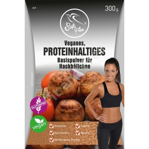 Safi Free Veganes, Proteinhaltiges Basispulver für Hackbällchen 300 g