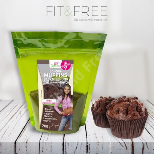 Safi Reform Schoko-Muffins Backmischung 280 g